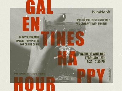 Galentines Happy Hour