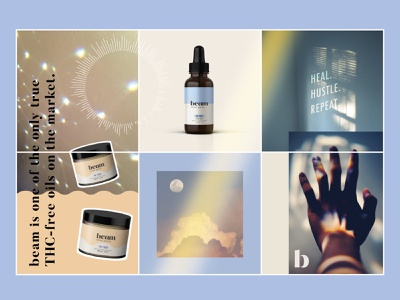 beam graphic design collage cbdoil cbd beam