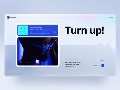 Opera Musicbox david ofiare gradient neuralink music web design neurology brain opera my mind