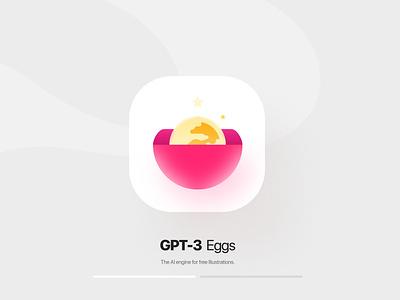 GPT-3 unrelated apple nigeria egg neumorphism skeuomorphic icon design iconography david ofiare