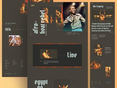 Fela Kuti Screens