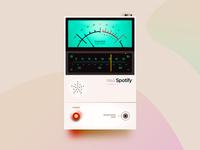 Neo Spotify neumorphism bend-box