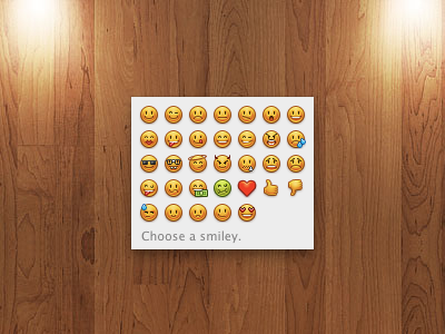 Emoticons icons download release emoticons ichat adium icon