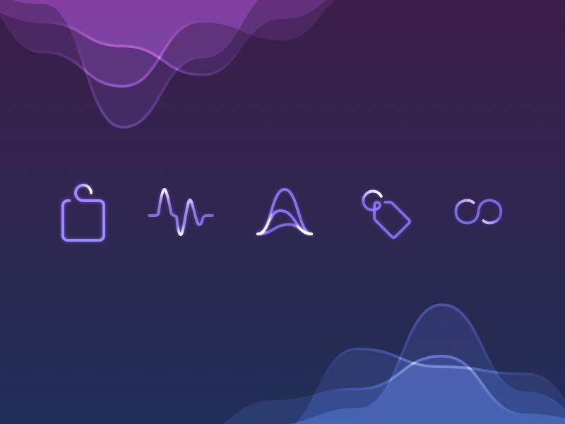 Icons loop waves tag ios icon icons
