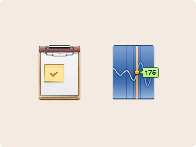 Two More icon clipboard stocks icons