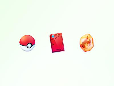 pokémon icons icon firestone pokedex pokeball