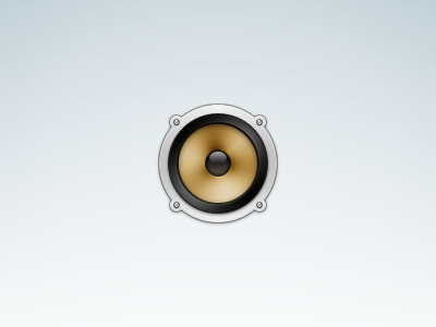 Speaker speaker music icon