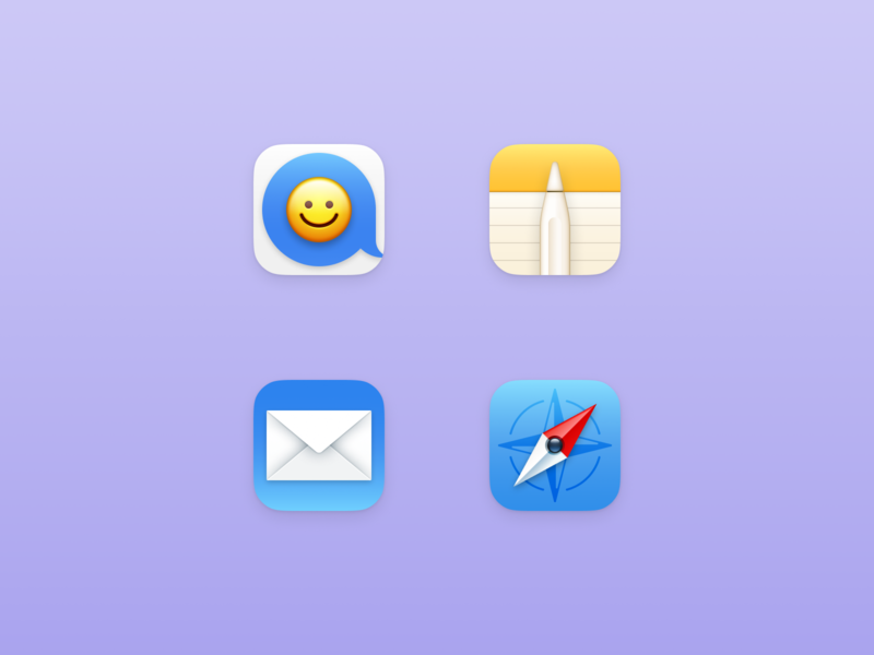 ios icons app icon design icon app icon ios safari mail notes messages