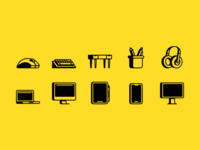 Workstation Icons