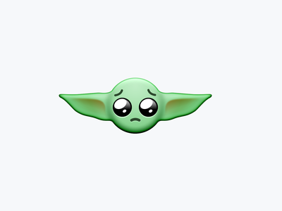 the child icons emoji mandalorian baby yoda star wars