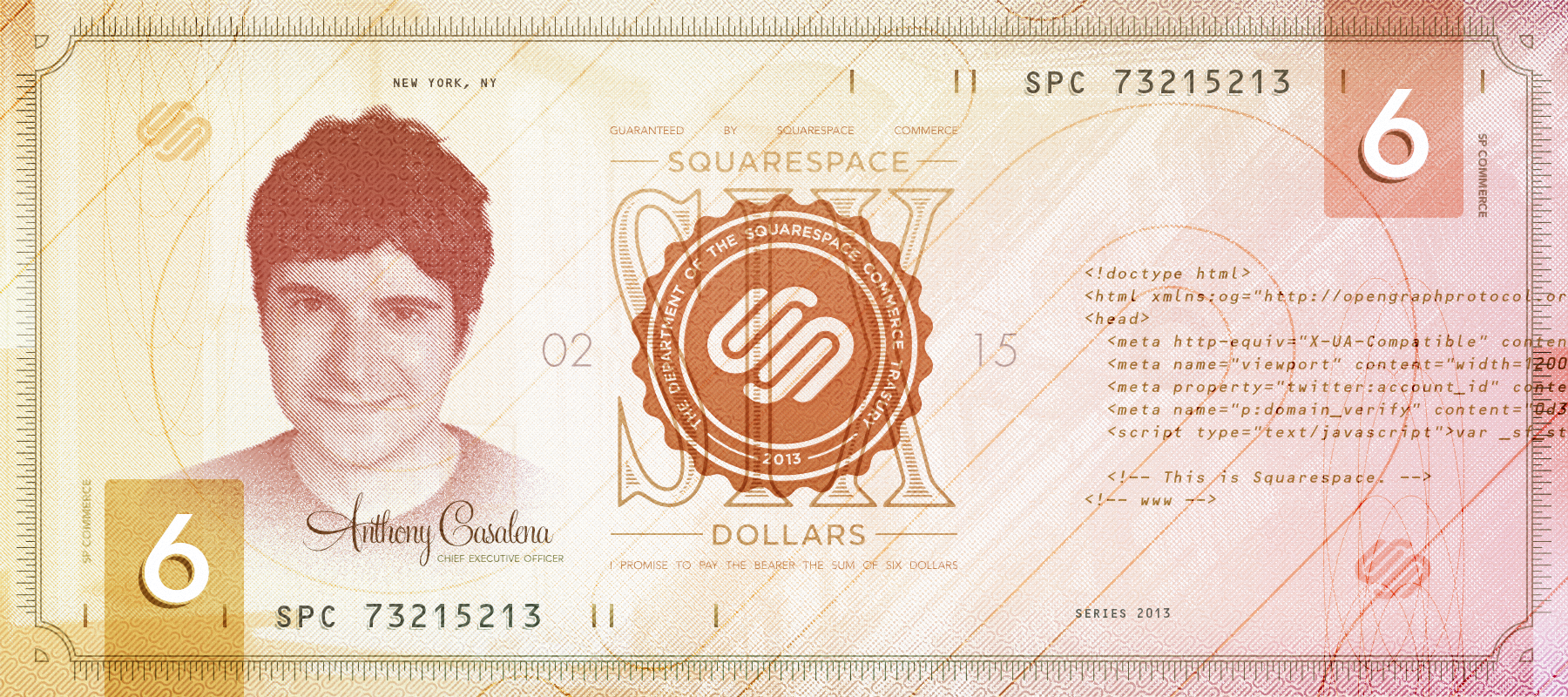Squarespace commerce note