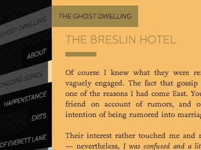 Opening the Hotel Door ghostdwelling