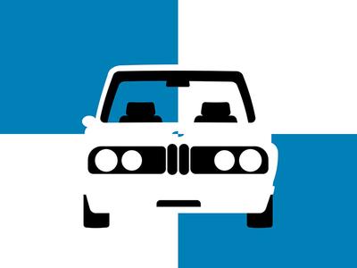 BMW 2002 bmw 2002 bmw vintage german checkered bravarian classic retro