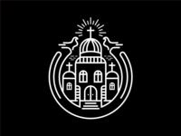 church monoline badge