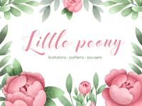 Little peony