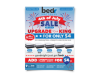 Bed'r Mattress Mail Ad