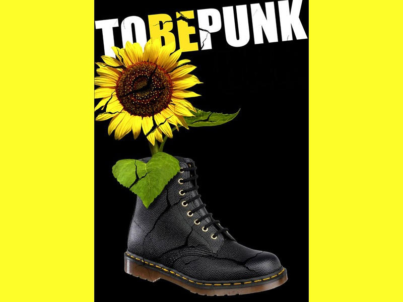 To Be Punk - festival poster nebojsareljin poster