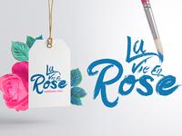 La Vie En Rose - Typo