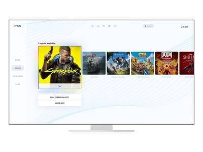 Playstation interface redesign