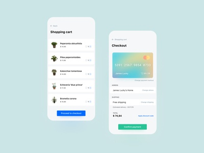 Daily UI 02 : Credit card checkout