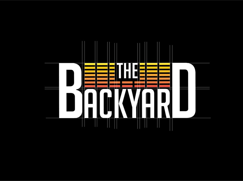 """The Back Yard"" Music Station Logo"