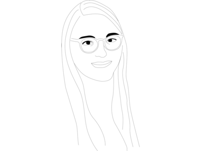 Line Drawing Self Portrait