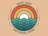 Data Lake National Park - Reporting Team T-Shirt Concept