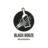 Black Booze Illustrations