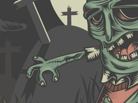 Zombie Illustration w.i.p.