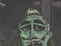 Zombie Illustration w.i.p. no.2