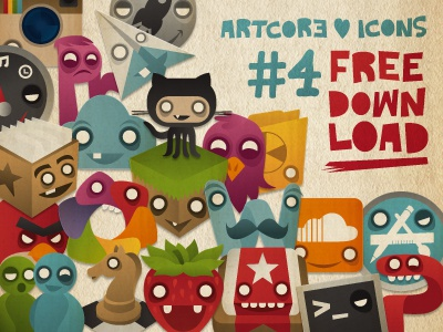 Artcore icons no.4 download icons artcore paper wunderlist sparrow reeder chess fraise powerpoint word github msn angrybirds dashboard instagram launchpad analog cloud folder terminal
