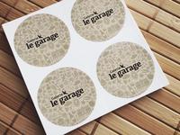 Sticker Galerie le garage