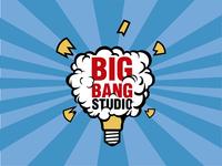 Big Bang studio identity Design