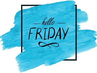 Happy Weekend!!! brush typography weekend happy design