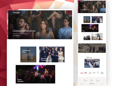 Corporate Services Page film production wedding corporate video production movie photography agency studio