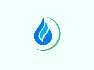 Logo Mark logo mark drop oil fire mark icon logo