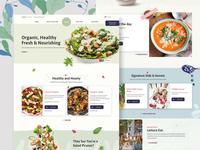 Conceptual Design for Healthy Food Website