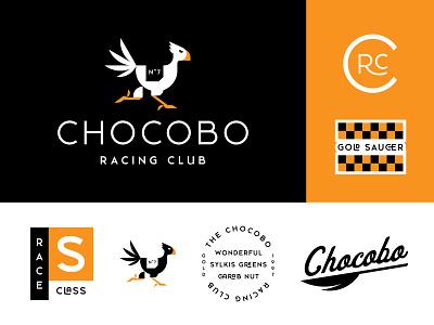 Chocobo Racing Club final fantasy vector graphic design racing club race racing gold saucer ff7 final fantasy 7 remake chocobo racing club chocobo