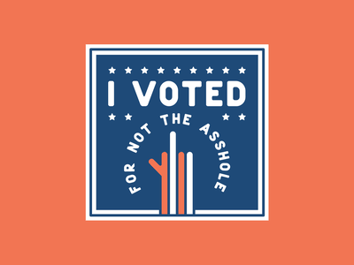 i Voted fuck trump us election graphic design 2020 election i voted