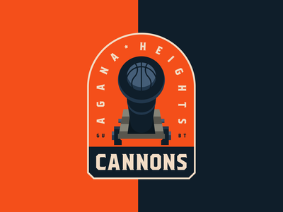 Cannons Sports Logo guam villagers project logo vector guam basketball agana heights sport basketball team basketball logo guam cannons sports logo