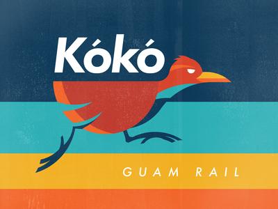 Ko'ko' Guam Bird