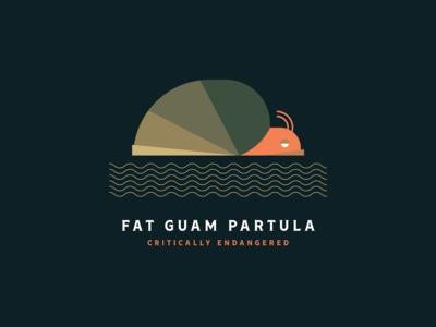 Fat Guam Partula