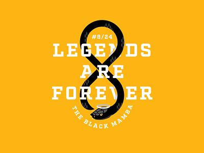 Forever Mamba legends are forever kobe bryant kobe the black mamba rip gianna rip kobe