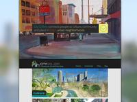 City Gallery Website