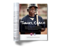 Full-page PSA for High School Sports