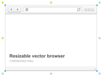 Resizable Vector Browser