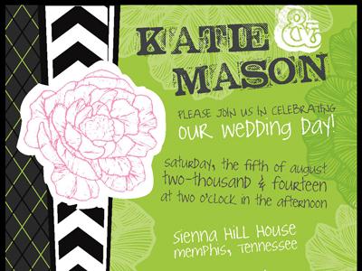Dribbble wedding floralnplaid