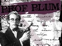Clue Poster Series - Prof Plum