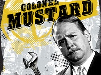 Clue Poster S1 Col. Mustard
