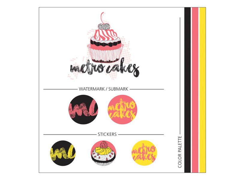 Mini Branding Kit Bakery Client By Erin Maioriello Dribbble